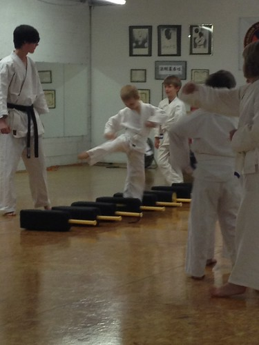 Beau at Karate