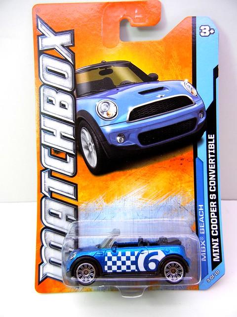 matchbox mini cooper s convertible (1)