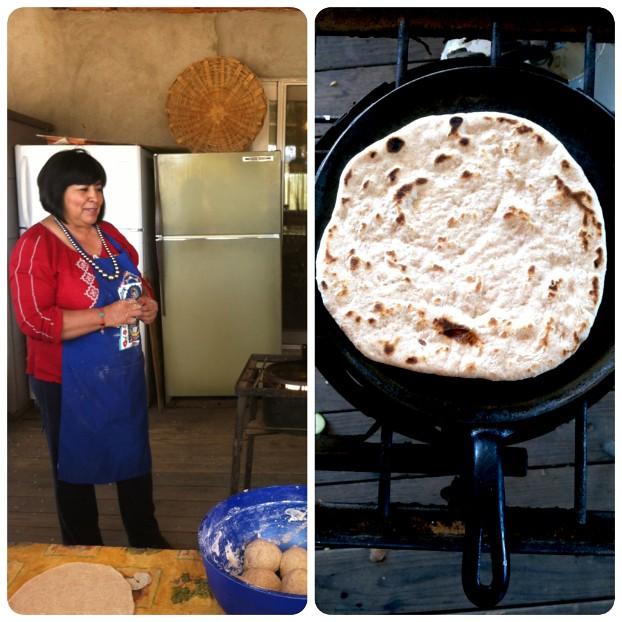 Norma making tortillas III