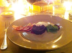 Course 2: Beetroot, sorrel, & horseradish