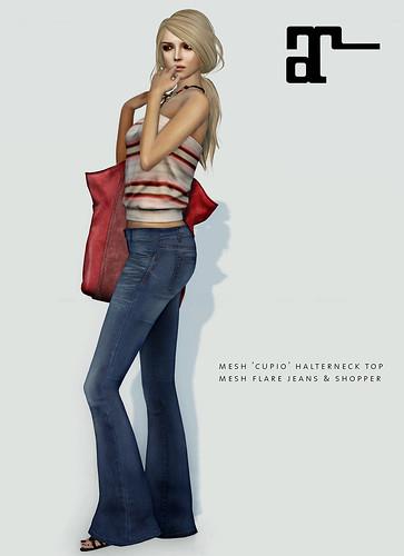 FlareJeans&CupioTop_Maitreya