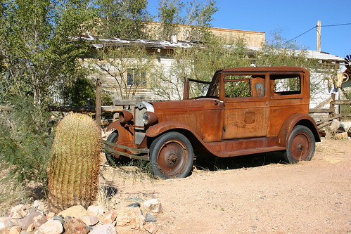 Rusty Car, Hackberry, Arizona
