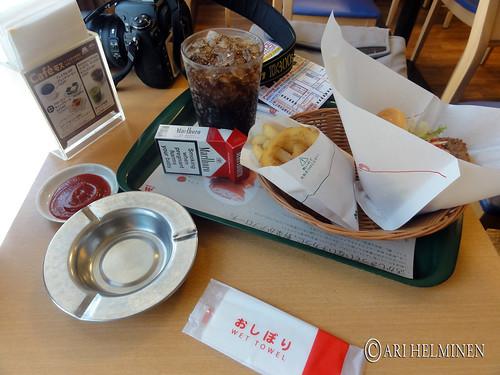 M.O.S. Burger in Akihabara