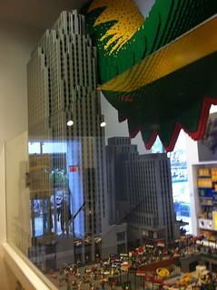 Lego Sculpture of 30 Rock