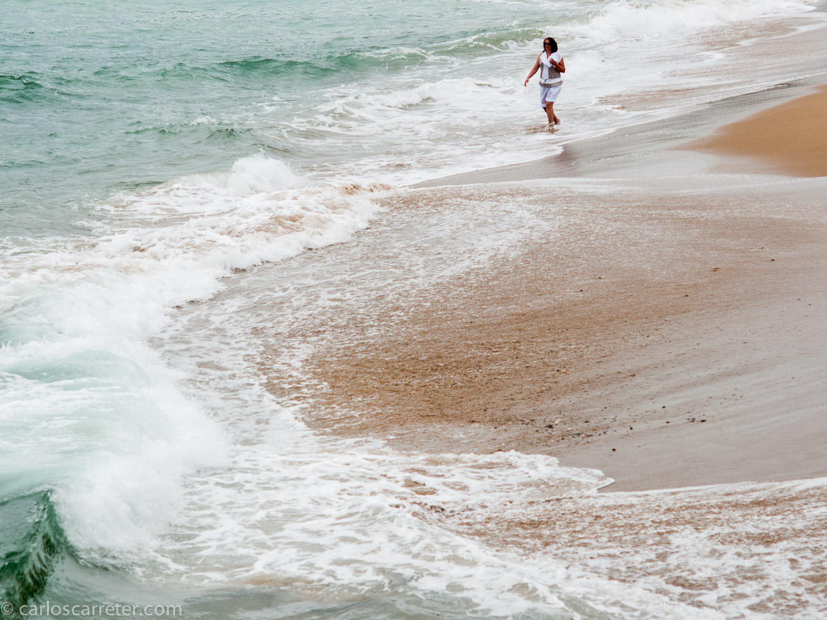 En la Playa de Saint-Jean-de-Luz