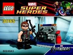 30165 - Hawkeye with equipment
