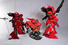 Formania Sazabi Bust Display Figure Unboxing Review Photos (72)