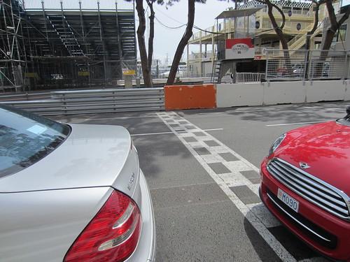 grand prix starting line