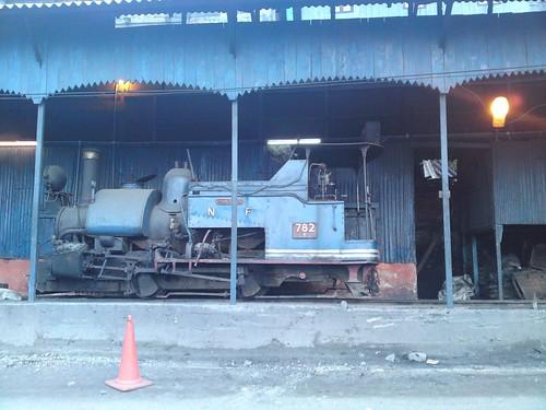 DHR locomotive 782 at Darjeeling