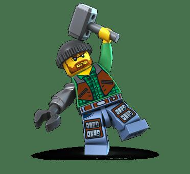 LEGO Monster Fighters Jack McHammer
