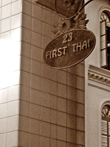 first Thai