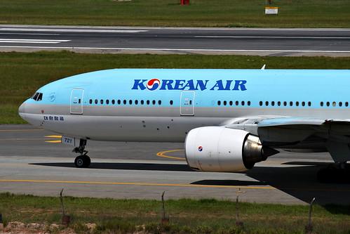 Korean Air   Boeing 777-200ER @ SBGR