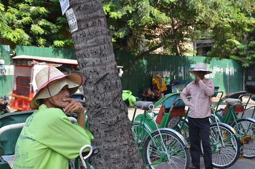 Phnom Penh Cyclo Tour