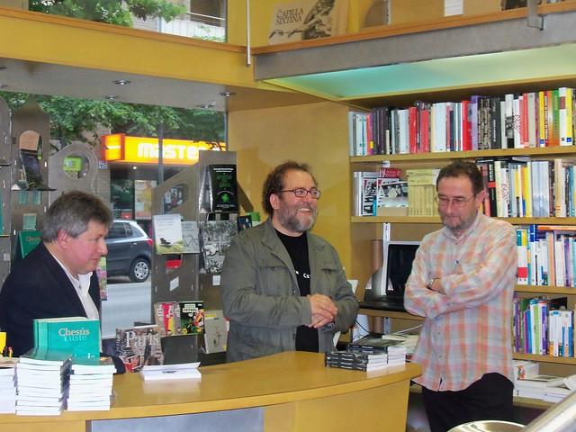 Presentando 'A gollada d'o bosque' en Huesca