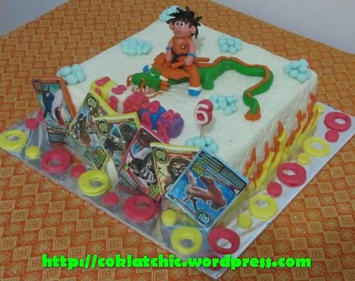 Cake Dragon Ball dan Animal Kaiser ISHAK Jual Kue Ulang Tahun