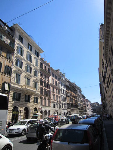 typical roman street