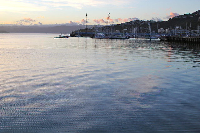 Thursday: the harbour is really quite pretty