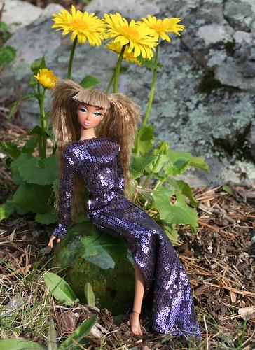 Jeannie Sparkles In The Garden