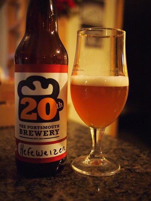 Portsmouth Hefeweizen - Portsmouth Brewery