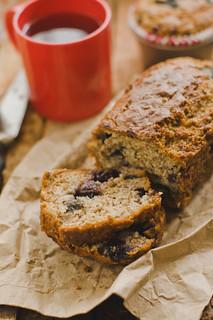 Week 17 - Blueberry Banana Bread