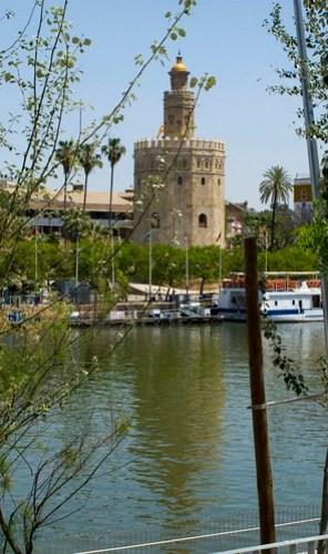 Torre del Oro, desde Triana