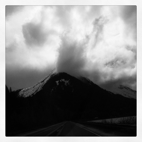 turnagain cloudy mountain