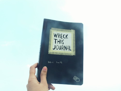 wreck this journal front