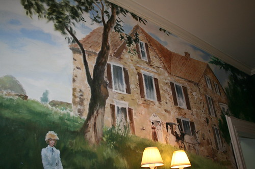 Elk Forge B&B mural
