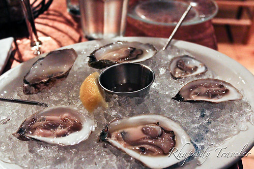 Maine oysters