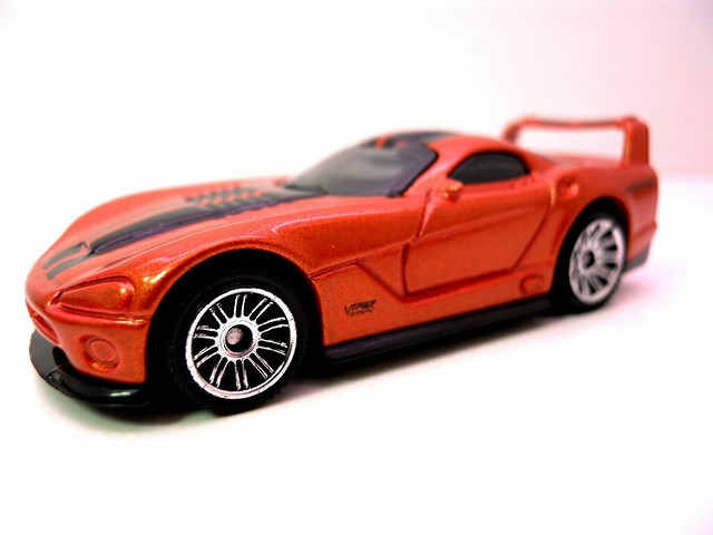 matchbox dodge viper gts-r rust (2)