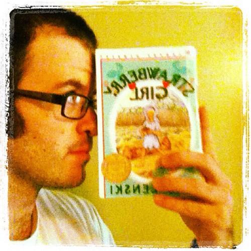 #bookaday Strawberry Girl by Lois Lenski- I kind of liked this crazy #nerdbery. @mrschureads