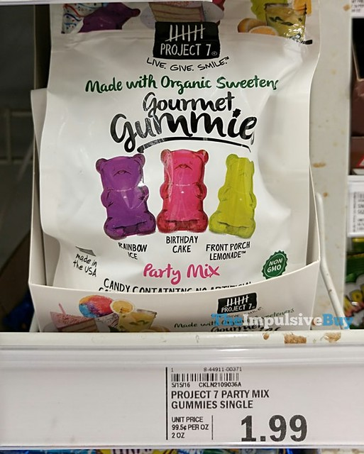 Project 7 Gourmet Gummies Party Mix