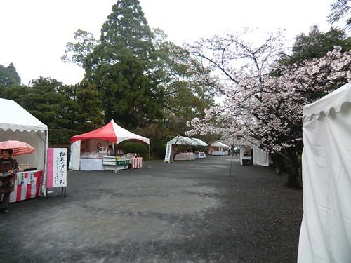 Festive Atmosphere near the east entrance