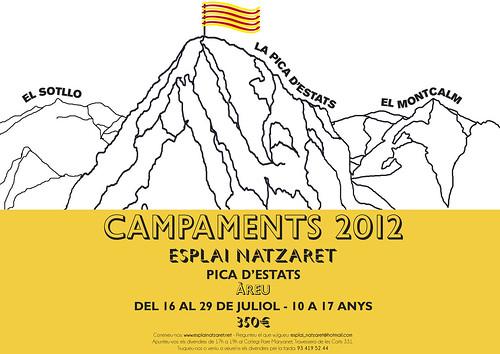 Campaments Estiu 2012 Esplai Natzaret