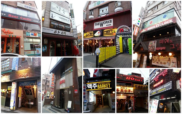 Bars and Beer plaes in Korea