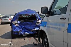 Unfall + Folgeunfall A634 26.07.12