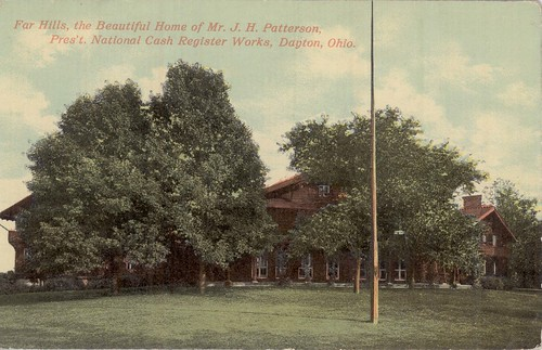 John H. Patterson's mansion Far Hills, Oakwood