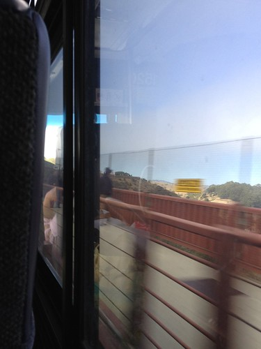 Day 274 of Project 365: On a Bus on a Bridge