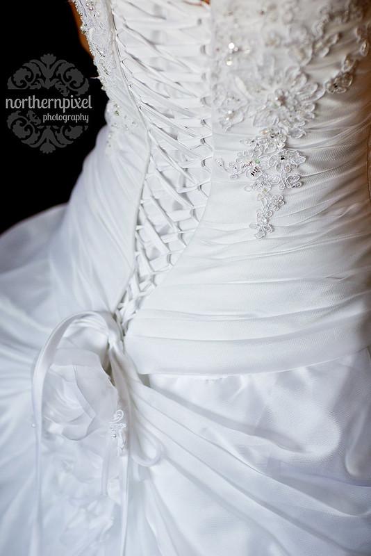 Wedding Dress Lace Beading