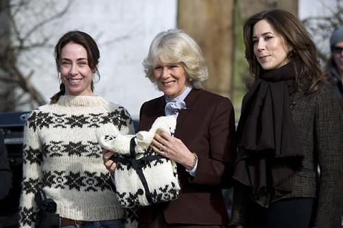 Sofie Gråbøl, Duchess of Cornwall and Princess Mary