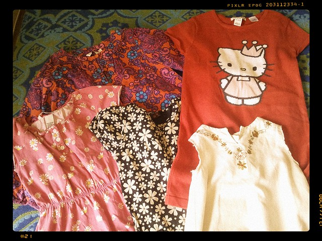 Dotters klänningar