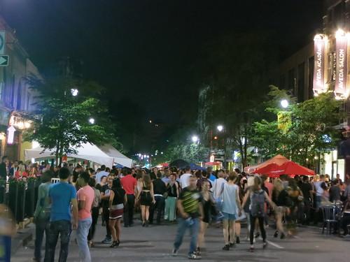 St Laurent street festival