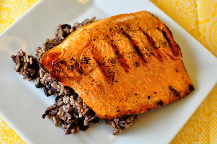 Cuban Grilled Salmon