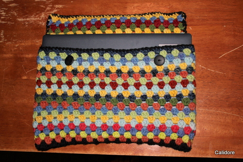 Crocheted Lap Top Cover