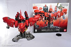 Formania Sazabi Bust Display Figure Unboxing Review Photos (134)