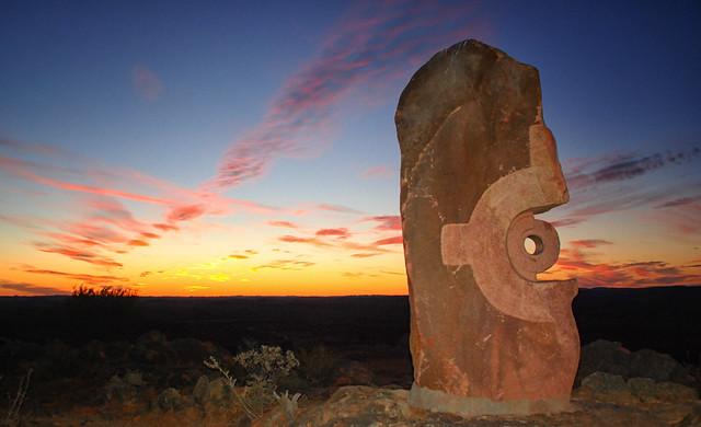 Outback Broken Hill Desert Sculpture