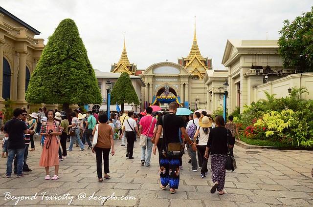 grounds of Grand Palace, Bangkok