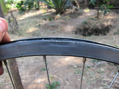 Bike Rim Repair Attempt - Good enough