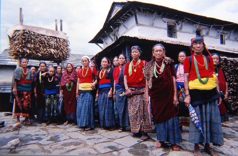 Gurung women