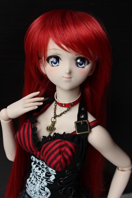 Natsuki in Leeke Real Red
